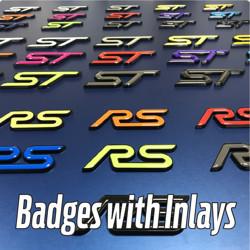 Badges with Gel Inlays