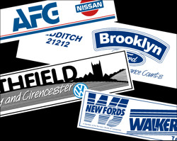 Dealer Stickers