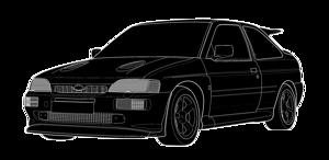 Escort Mk5 inc RS Cosworth