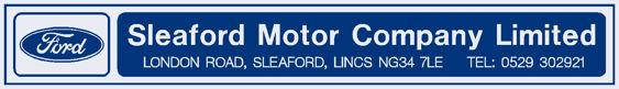 Sleaford motor company lincoln ford 290x40