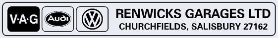 Renwicks garages salisbury wiltshire vw audi 290x40