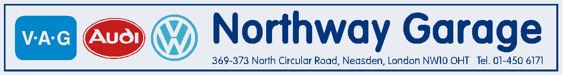 Northway garage neasden north london vw audi 300x40