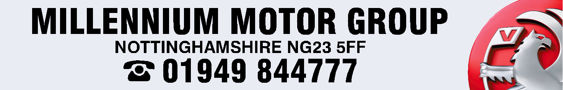 Millenium motor group nottingham vauxhall 300x48