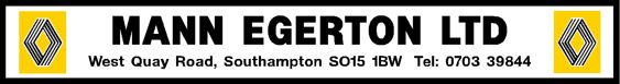 Mann egerton southampton renault 305x42