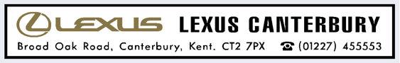Lexus canterbury kent 285x45