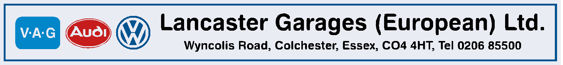Lancaster garages colchester essex vw audi 300x35