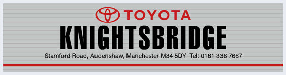 Knightsbridge audenshaw manchester toyota 295x78