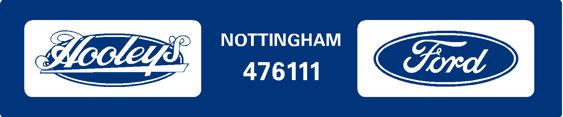 Hooleys nottingham ford 250x50