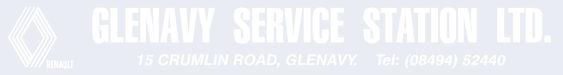 Glenavy service station renault 299x40