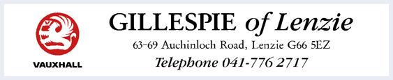 Gillespie of lenzie glasgow vauxhall 295x60
