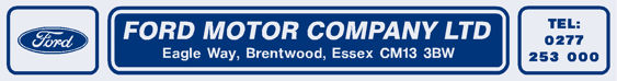 Ford motor company brentwood ford 305x40