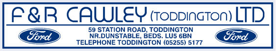 F r cawley dunstable ford 270x50