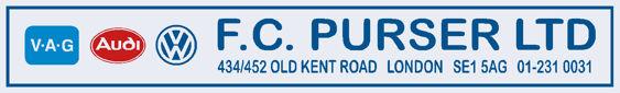 F c purser south east london vw audi 300x45
