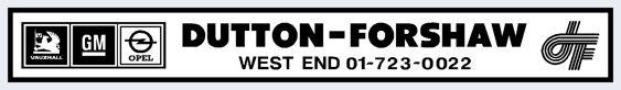 Dutton forshaw west end london vauxhall 360x53