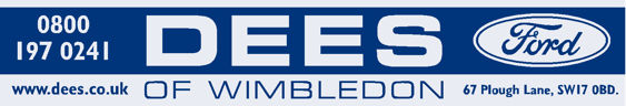 Dees of wimbledon ford 290x50