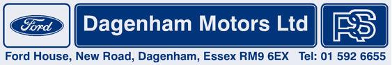 Dagenham motors dagenham ford 250x42