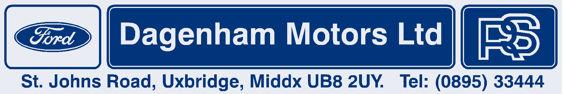Dagenham motors uxbridge ford 250x42