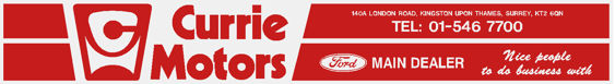 Currie motors kingston upon thames ford 300x40