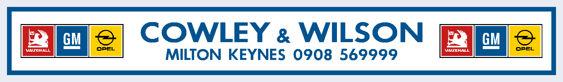Cowley and wilson milton keynes vauxhall 360x50