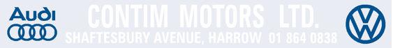 Contim motors harrow london vw audi 400x50