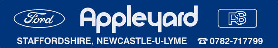 Appleyard - Newcastle under Lyme - Ford - Dealer Sticker