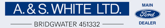 A & S White - Bridgwater - Ford - Dealer Sticker