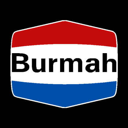 Burmah Decal