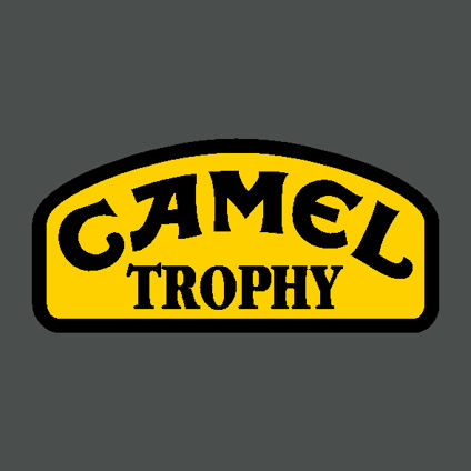 Camel Trophy Decal