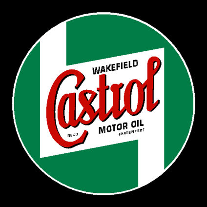 Castrol Wakefield Decal