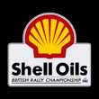 Shell oils british rally championship 200mm high