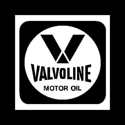 Valvoline Vintage Decal