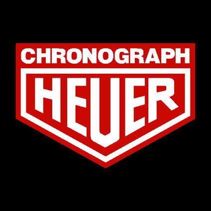 Heuer Chronograph Decal