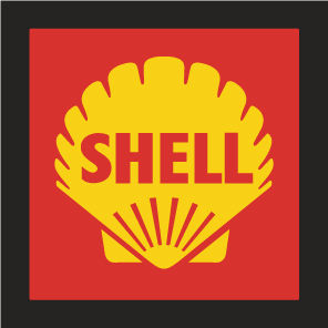 Shell vintage square