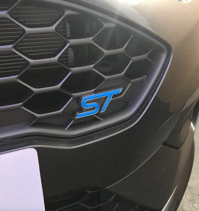 Fiesta Mk8 ST Inlay Front Nitrous