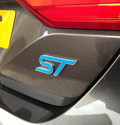 Fiesta Mk8 ST Inlay Rear Nitrous
