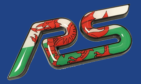 RS Gel Inlay - Welsh Flag