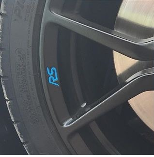 Focus mk3 rs forged wheel rs badge