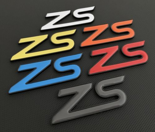 ZS Perspex Badge with Gel Inlay