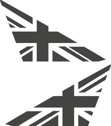 Ecosport mk2 front quarter flags