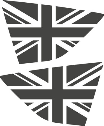 Kuga Mk1 Window Flags