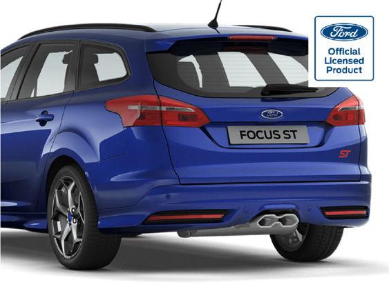 Focus Mk3.5 Facelift Estate - Gel Badge Overlays