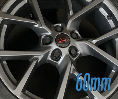 Ford Wheel Centre Gel Overlays - 60mm