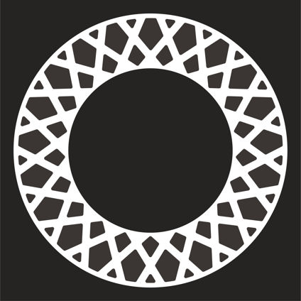 Mesh Pattern Wheel Decals
