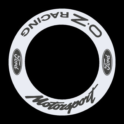 Ford Motorsport - OZ Racing Wheel Decals 1