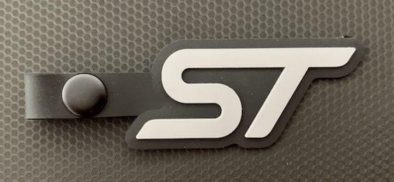 St key tag grey