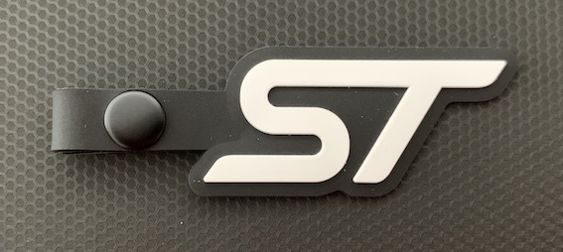 St key tag white