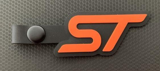 St key tag orange