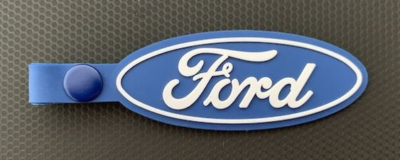 Ford Rubber Key Tag