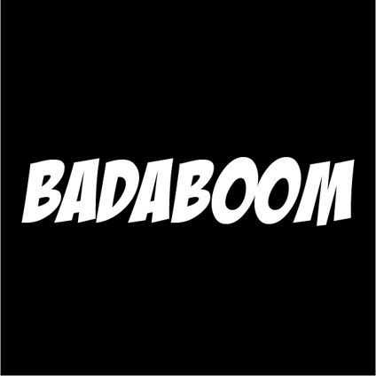 Custom Text - Badaboom