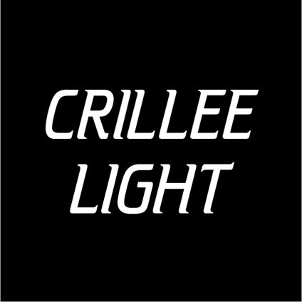Custom Text - Crillee Light